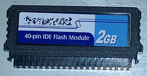 Solid-state drive - A 2 GB disk-on-a-module with PATA interface