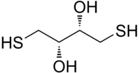Image illustrative de l'article Dithiothréitol