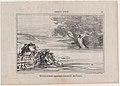 Divertissement aquatique renouvelé des Grecs, from Croquis d'Été, published in Le Charivari, August 16-17, 1857 MET DP876657.jpg