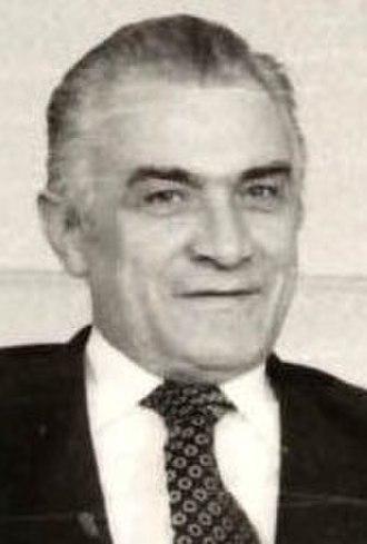 President of the League of Communists of Montenegro - Dobroslav Ćulafić