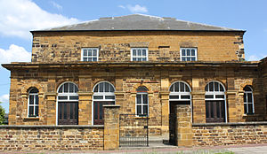 Philip Doddridge - United Reformed Church, Doddridge Street, Northampton where Doddridge was minister
