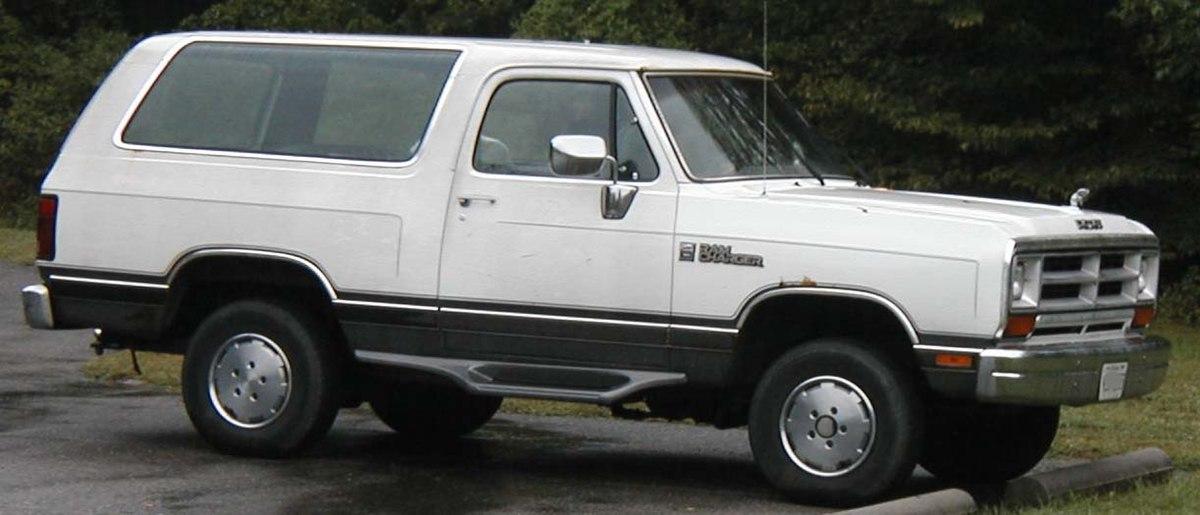 Dodge Ramcharger Wikipedia