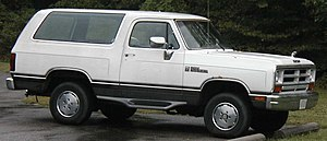 Dodge Ramcharger - Image: Dodge Ramcharger