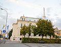 Dom Kolejarza, ul. B. Westerplatte 32, widok od strony placu.jpg