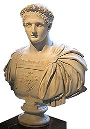 Bust of Domitian, Louvre, Paris.