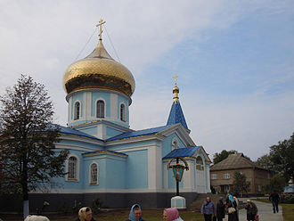 Tatarbunary - Dormition Church in Tatarbunary