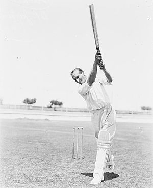 Douglas Jardine - Jardine batting in the early 1930s