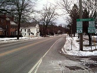 Bennington County, Vermont - Downtown Arlington