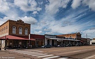 Calvert, Texas - Image: Downtown Calvert Texas(1 of 1)