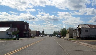 Hulbert, Oklahoma - Downtown Hulbert