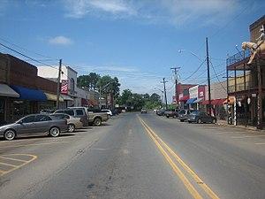 Logansport, Louisiana - Downtown Logansport
