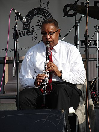 Michael White (clarinetist) - Michael White at Algiers Riverfest, New Orleans, 2008