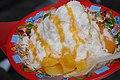 Dragon Ice with mango topping in Akihabara (2008-11-02 13.00.12 by shinobu tsutsui).jpg