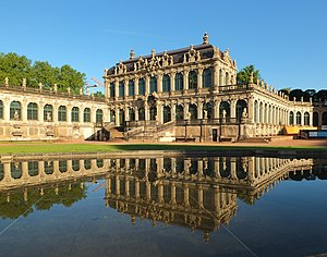 Mathematisch-Physikalischer Salon - The Zwinger which houses the museum