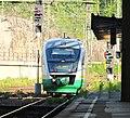 Dresden train VT03A leaving station.JPG