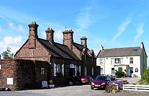 Drigg - Image: Drigg Station and the Victoria Inn geograph.org.uk 47568