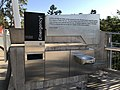 Drinking fountain and emergency call point at the Kurilpa Bridge.jpg