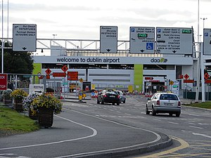 Fingal - Sign to Dublin Airport