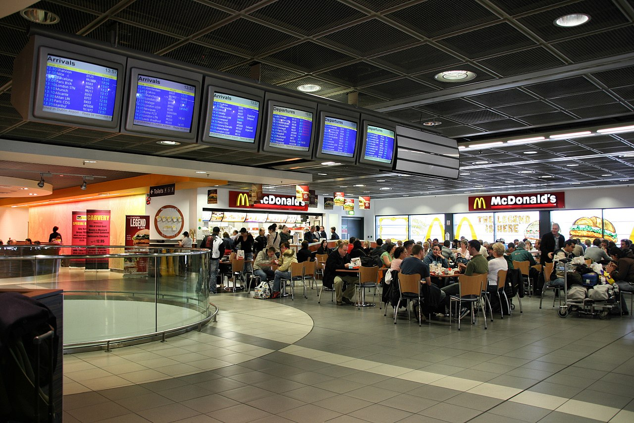 Dublin Airport Fast Food