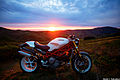 Ducati Monster & sunset.jpg