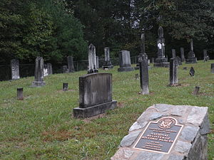 National Register of Historic Places listings in Caldwell County, North Carolina - Image: Dula Horton Cemetery