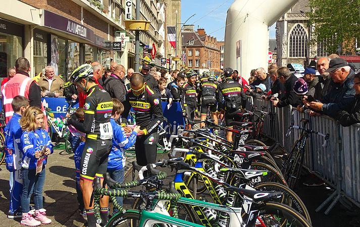 Dunkerque - Quatre jours de Dunkerque, étape 1, 6 mai 2015, départ (B134).JPG