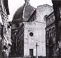 Duomo di firenze nel 1860 ca, facciata.jpg