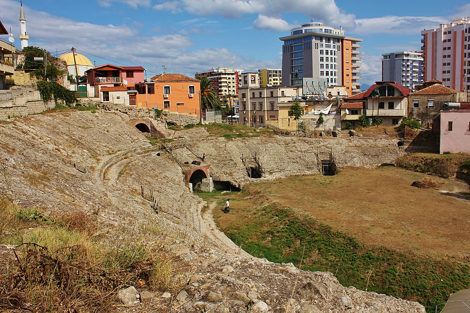 Durrës amphitheater (Albania)
