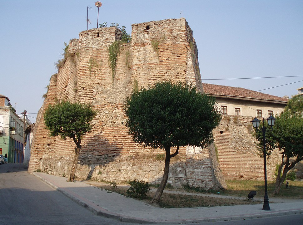 Durres Old city wall 2