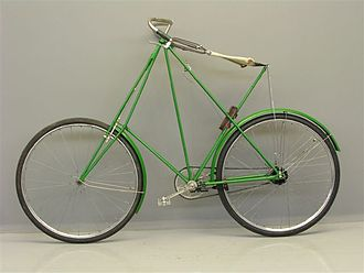 Bicycle frame - Dursley Pedersen bicycle circa 1910