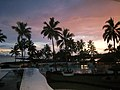 Dusk at the Manta Ray, The Pearl, Pacific Harbour, Fiji - panoramio.jpg