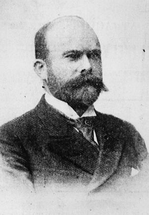 Aldershot, Queensland - E. A. Weinberg, manager of the Aldershot works, 1895