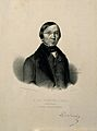 E. Frédéric Dubois d'Amiens. Lithograph by C. L. Masquelier, Wellcome V0001681.jpg