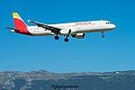 EC-IJN Airbus A321-211 A321 - IBE (28930784840).jpg