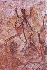 Early X-ray bird and human figure