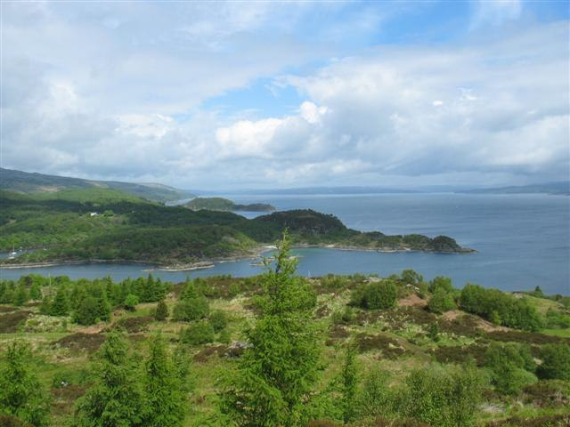 East Loch Tarbert from the Kintyre Way. - geograph.org.uk - 558973