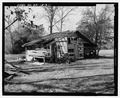 East front and south side - Railey-Hall, Barn, State Highway 3-U.S. Highway 19 at Croxton Cross Road, Sumter, Sumter County, GA HABS GA-15-D-1.tif