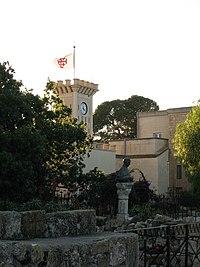 Eastern Orthodox temple on Mount Tabor