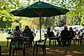Easton Lodge Gardens, Little Easton, Essex, England outdoor café 06.jpg