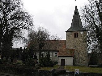 Eberholzen - Protestant church.