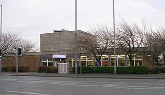 Eccleshill, West Yorkshire - Eccleshill Library on Bolton Road