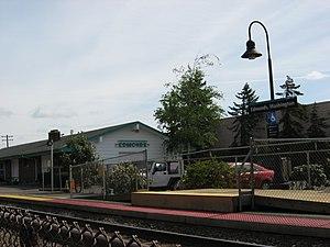 Edmonds station (Washington) - Image: Edmonds Amtrak Station