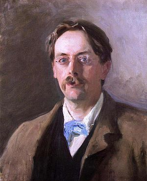 Edmund Gosse - Edmund Gosse, by John Singer Sargent, 1886