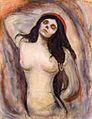 Edvard Munch - Madonna (1895) - Hamburger Kunsthalle.jpg