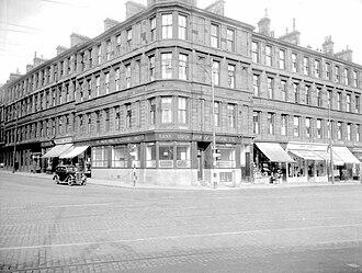 Gorbals - Eglinton Street, Gorbals, 1939