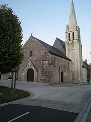 The church of Saint-Quentin, in Saint-Quentin-sur-Indrois