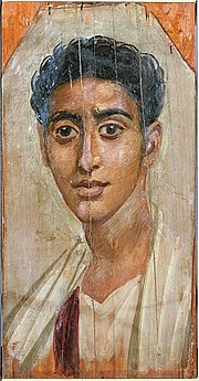 180px-Egyptian_-_Mummy_Portrait_of_a_Man