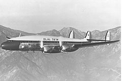 L-149 Constellation izraelskich linii El Al Israel Airlines