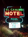 El Camino Motel Sign, Cherokee, NC (32767203688).jpg