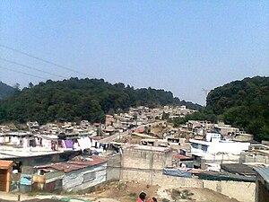 Huixquilucan de Degollado - Low income housing in El Hielo, Huixquilucan in the ouskirts of Mexico City